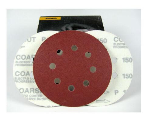 8-Trou p150 Mirka 50x meules COARSE CUT Ø 125 mm