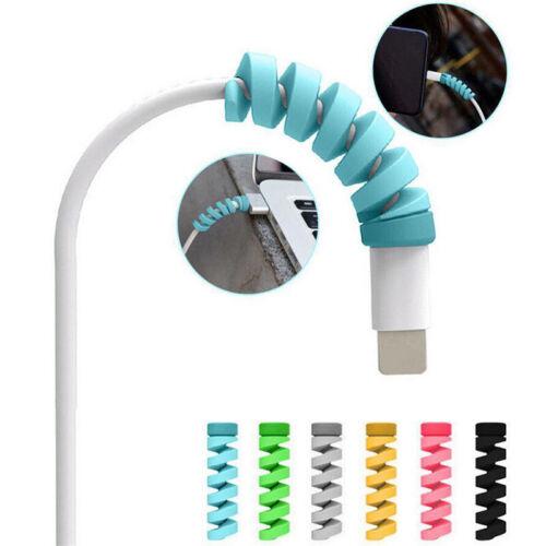 10 un Protector de mezcla Protector de cubierta para Apple iPhone 8 X USB Cargador Cable Cable T9X4
