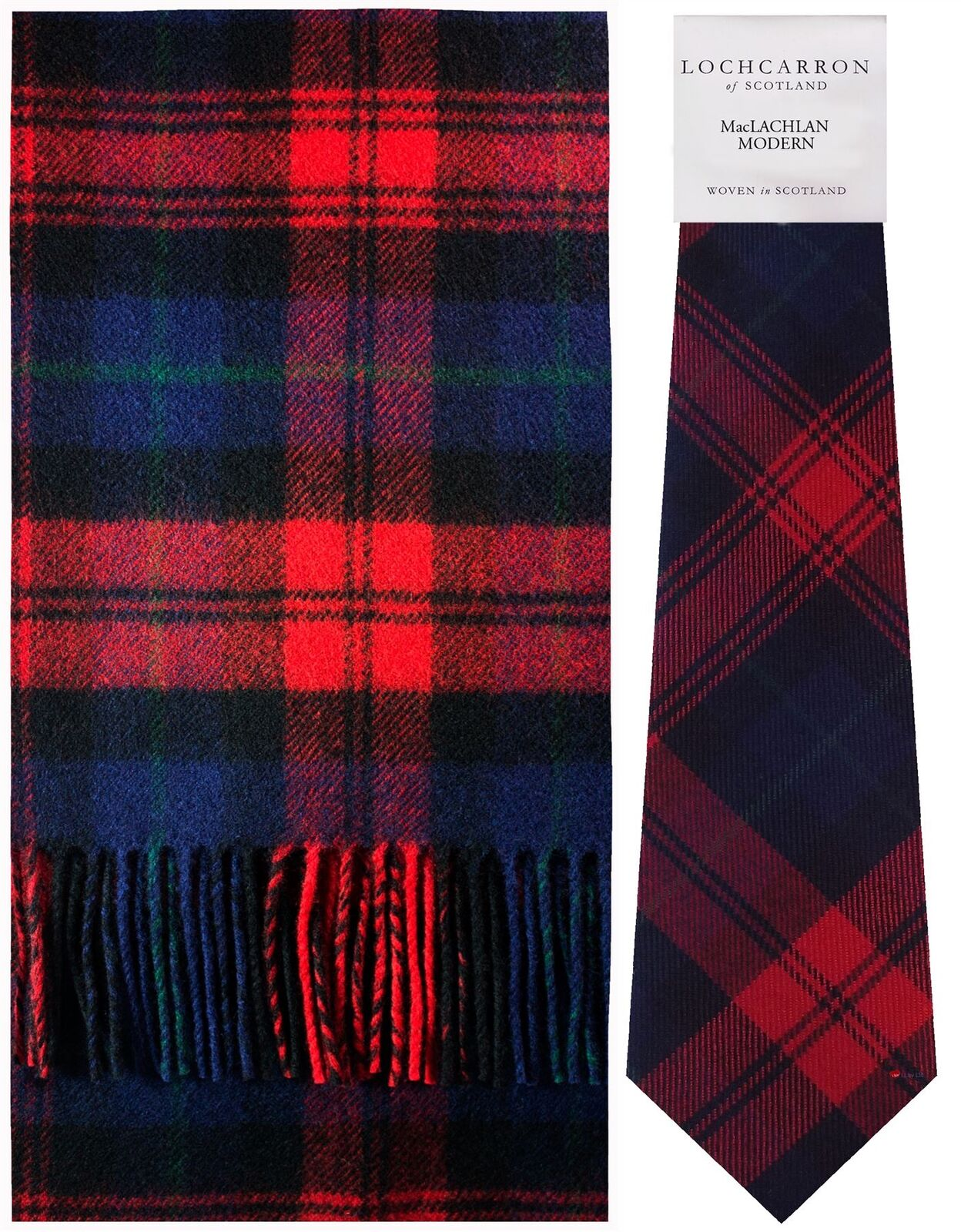 MacLachlan Modern Tartan Brushwool Scarf & Tie Gift Set Set Set | Shopping Online  ae2dd2