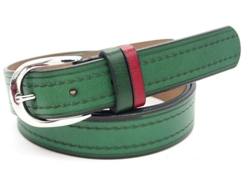 Woman belt Leather real Curl round plain barb