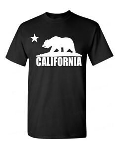 California-Bear-White-T-Shirt-Cali-Souvenir-State-Map-Republic-CA-Tees