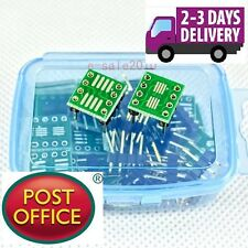 10 PCS SOP8 SO8 SOIC8 TSSOP8 MSOP8 to DIP8 Adapter PCB Conveter Board DIY 239A