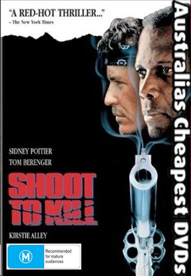 Shoot To Kill  DVD NEW, FREE POSTAGE WITHIN AUSTRALIA REGION ALL