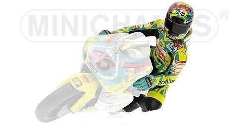 Minichamps Estatuilla – Montando – Valentino Rossi – 250ccm Gp Mugello 1999 L.E