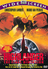 Highlander: Final Dimension  DVD Christopher Lambert, Mario Van Peebles, LN
