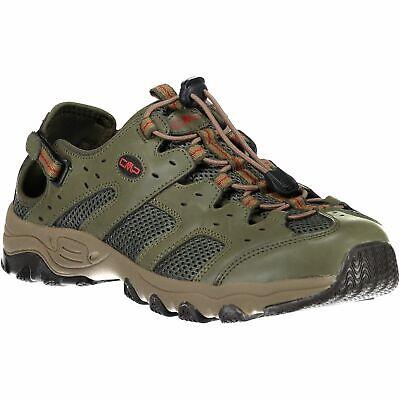 Obbiettivo Cmp Scarponcini Hydrus Hiking Sandal Verde Scuro Traspirante Tinta Mesh-mostra Il Titolo Originale Risparmia Il 50-70%