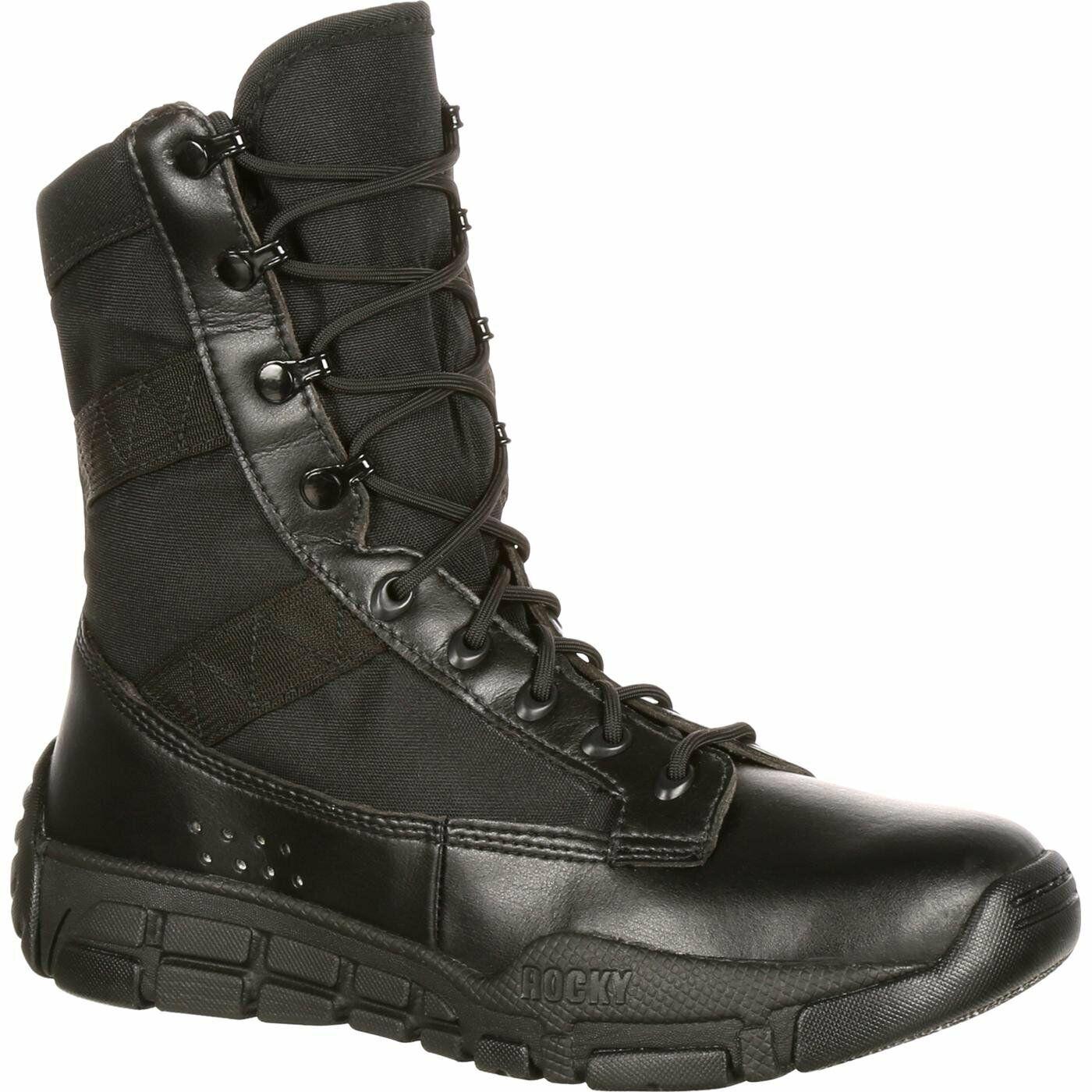 Rocky männer's C4T militär- Inspirot Duty Stiefel schwarz RY008