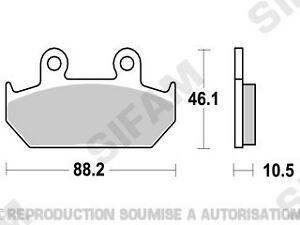 Plaquettes-de-frein-avant-Honda-XL-600-V-Transalp-1991-a-1993-S1005B