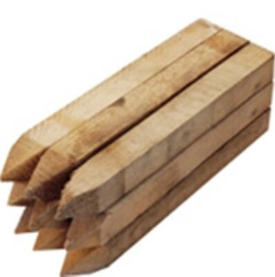 site edging stakes,450mm long treated and pointed 8x Wooden pegs//stakes