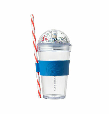 Gift Starbucks Korea 2019 Summer Sailer Bearista Figure Tumbler Mug Cup Coffee