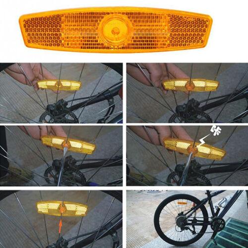 4stk Fahrrad Reflektor Sicherheit Speichenreflektoren Felgenreflektoren Gift