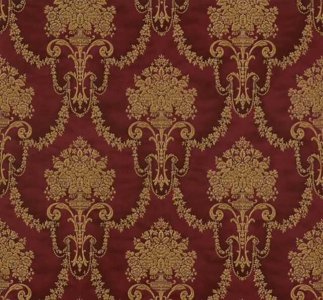Tapete Vlies Ornamente Rasch Trianon Rot Gold 514902 (3,26u20ac/1qm)