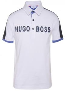 Hugo Boss Kid/'s Color Block 3D Logo Print Polo Size 6