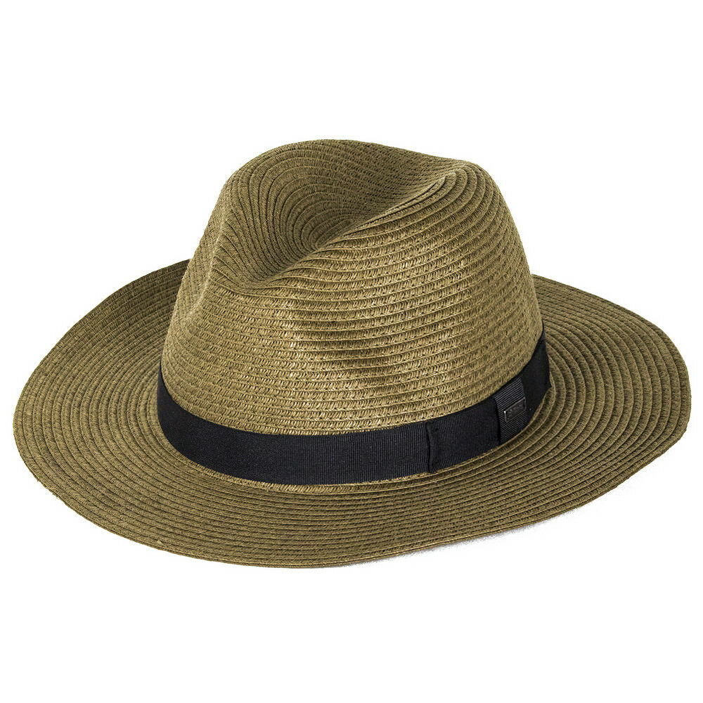 Barts Aveloz Straw Braid Fedora Sun Hat - - - Dark braun      8f256e