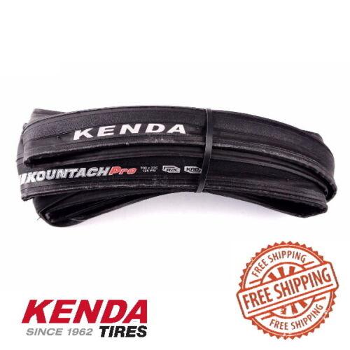 Kenda Kountach Pro 700x23C K1092 Tire Clincher Black R2C compound Road Bike tyre
