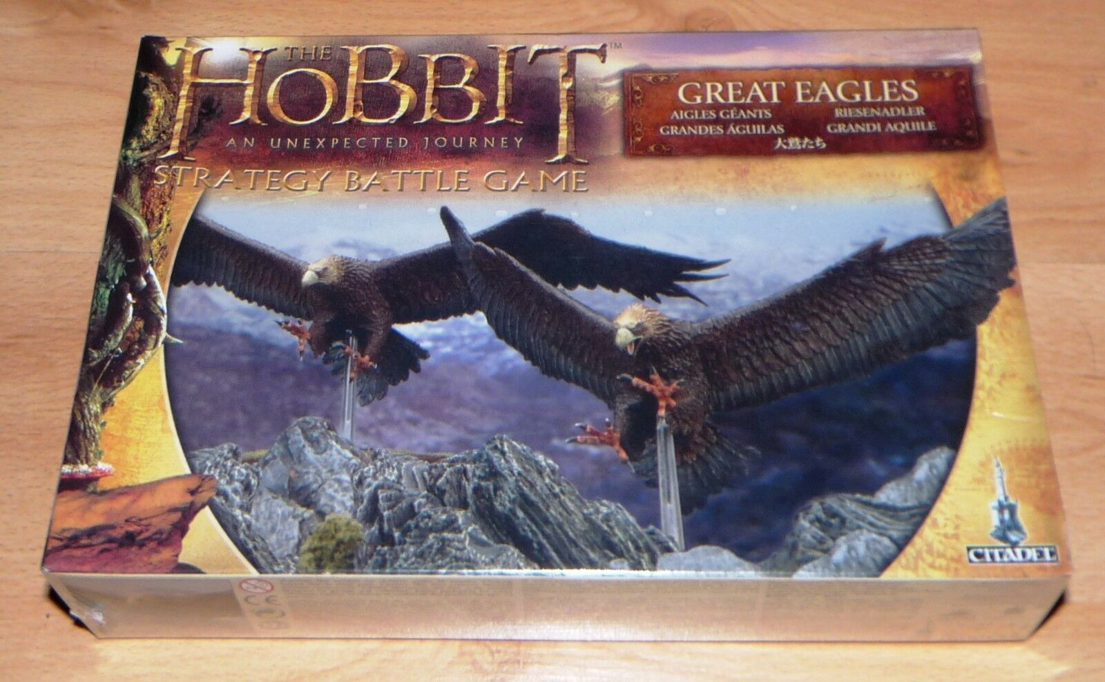 GAMES WORKSHOP CITADEL THE HOBBIT GREAT EAGLES 31-07 NEW