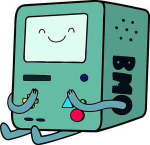 BMO Adventure Time Decal Removable WALL STICKER Home Decor ...