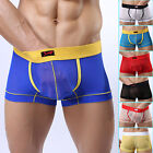 2014 See-Through Men's Sexy Underwear Boxer Shorts Trunks Low Rise Briefs Boxers