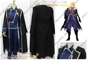 Fullmetal Alchemist:Brotherhood Cosplay Olivier Mira Armstrong Costume jacket NN