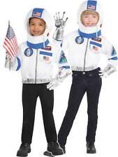 Spaceman niños Astronauta Disfraz Elaborado Vestido Espacio Hombre Chaqueta & Casco Libro Semana