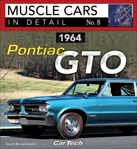 1964 Pontiac GTO Pictorial History Book Muscle Cars Detail Options Codes VIN
