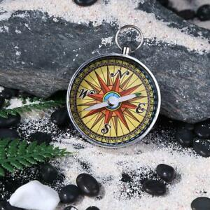 Mini G44-5 Pocket Hiking Camping Compass Lightweight Portable Keychain