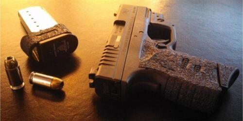 Talon Grips Springfield Arms XD-S 9mm//.45  Black Rubber 207R Small BackStrap