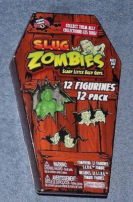 ZOMBIES series 3 set 12 slug NEW coffin muscle men size walking dead S.L.U.G