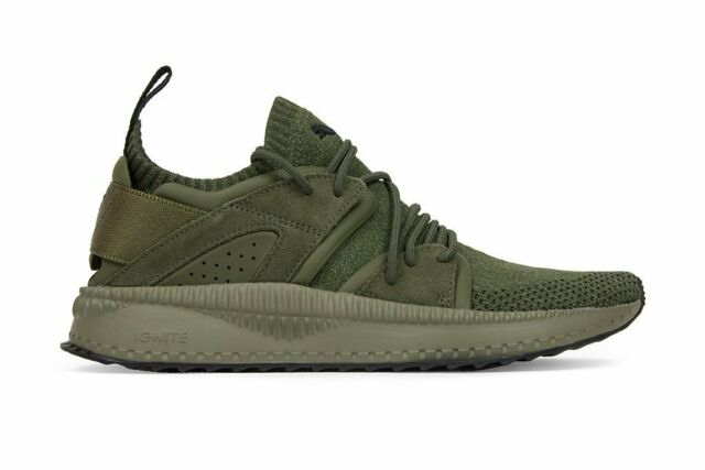 Puma, 364408 03, tsugi blaze evoknit, Olive night Falcon green
