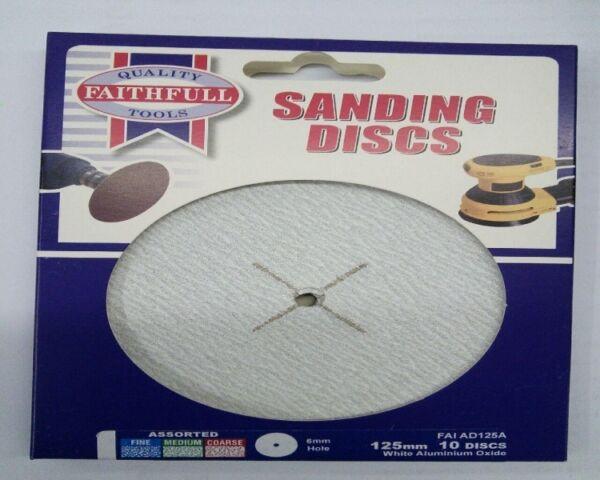 Faithfull AD125A Assorted Sanding Disc