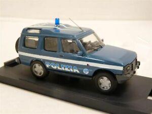 PB-Italy-1-43-Land-Rover-Discovery-2-door-Polizia-Handmade-Resin-Model-Car