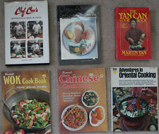 lot 8 Chinese cooking books -cuisine, soup, seafood, baking, fried, recipes Wok