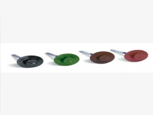 Coroline Roof Sheet Fixings For bitumen Roof Sheets Various Colours Pack Of 20
