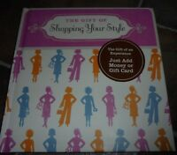 Hallmark Womens Shopping Your Style Gift Card Holder Book Experience Neat