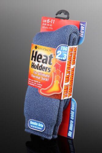 6 Pairs GENUINE Thermal Winter Warm Heat Holders Socks size UK 6-11 EUR 39-45