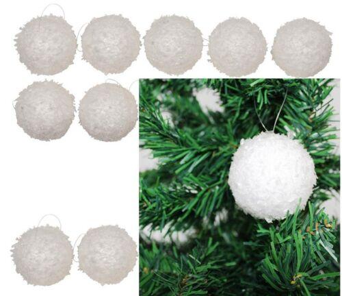 Neige Blanc boules à neige 10 DKB des boules de neige boules de Noël Boules de Noël M