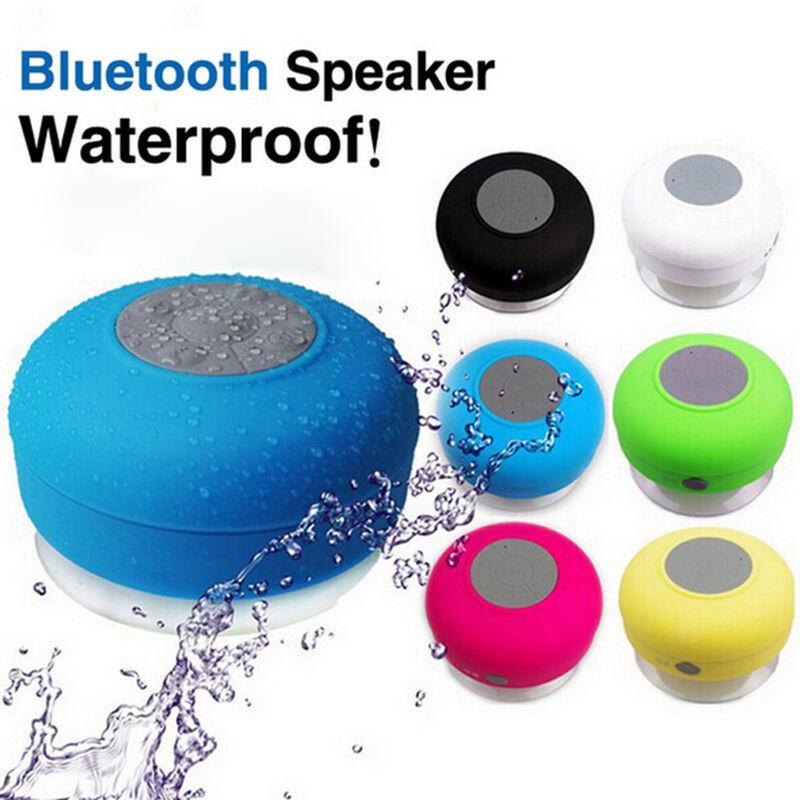 Waterproof Bluetooth Wireless Speaker Handsfree Music Mic Su