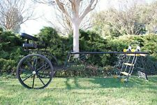 """EZ Entry Horse Cart-Cob&Full Size with 30"""" Solid Rubber Tires"""