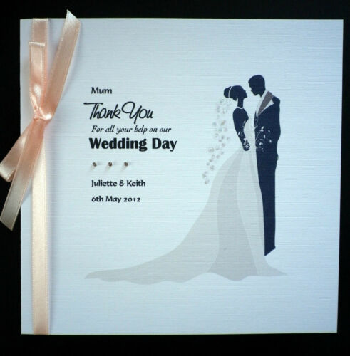 Personalised Wedding Thank You Card