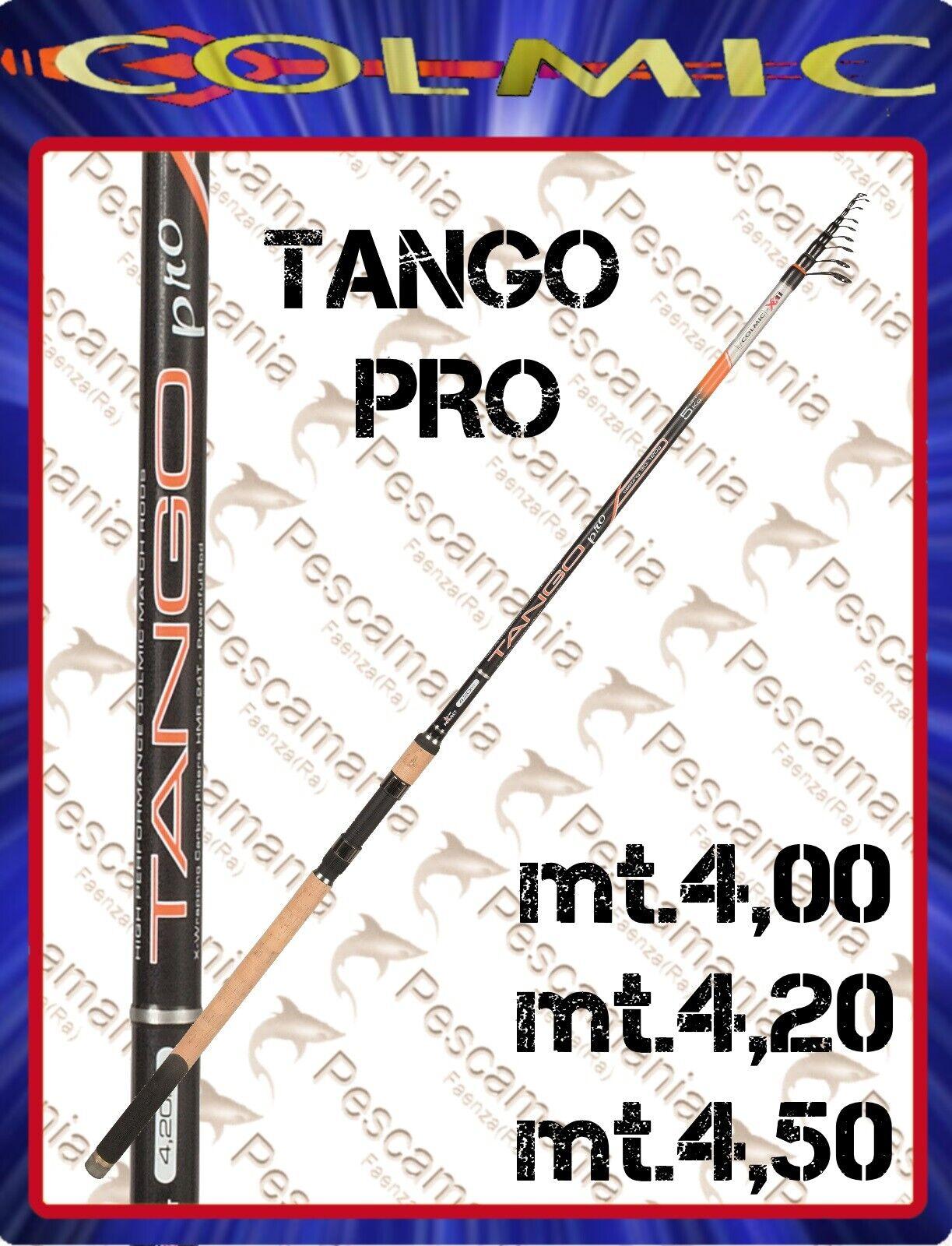 Canne à pêche Colmic Tango Pro TELEMATCH gr 30-120 4,00 -4, 20-4, 50
