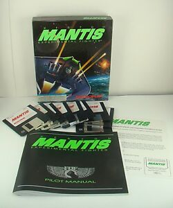 XF5700-Mantis-Experimental-Fighter-1992-IBM-PC-3-5-034-Disk-Game-Big-Box-Ed-Aliens