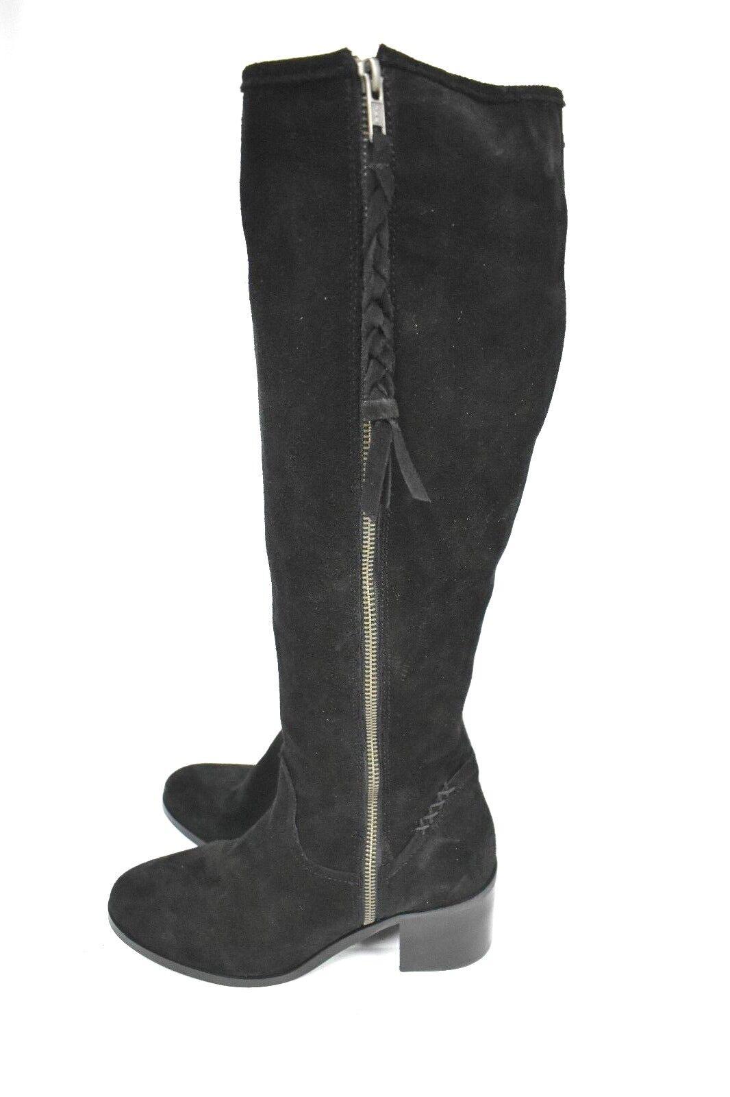 New Steve Madden Women's Lasso Lasso Lasso Black Knee High Boots size 8.5 02e1b8