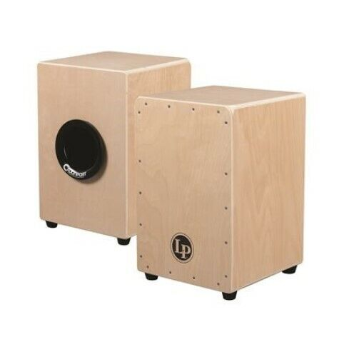 NEW Latin Percussion Aspire LPA1331CB Tour Snare Cajon (with Gig Bag) - NATURAL