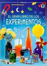 El Gran Libro de los Experimentos / Big Book of Experiments (Spanish-ExLibrary