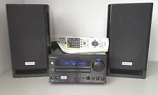 ONKYO CR-715DAB UK EDITION CD/RECEIVER/DAB Hi-Fi System with D-M10BK Speakers