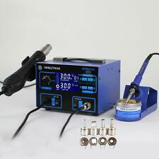 Yihua-992D 2in1 110V SMD Electric Rework Soldering Station Hot Air Gun Desolder