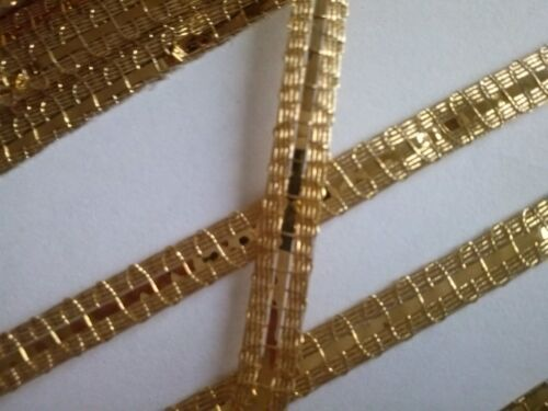gold braid scrapbooking costume théatre broderie galon or carlhian couture