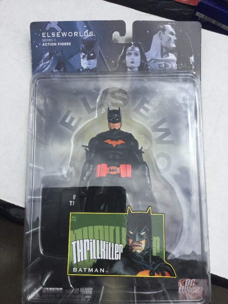 DC ELSEWORLDS THRILLKILLER BATMAN FIGURE DC DIRECT RARE NEW(52 REBIRTH BATGIRL 1