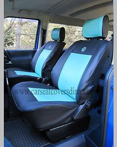 VW Transporter T4 Waterproof Tough Tailored Van Captain Black Blue ...
