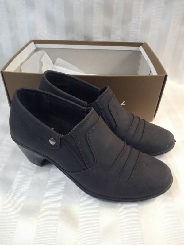 Easy Streets Black Bennett Slip-on Shoes 7 Invigorating Blood Circulation And Stopping Pains
